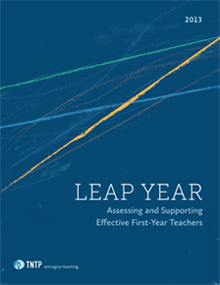 Leap Year: Assessing and Supporting Effective First-Year Teachers